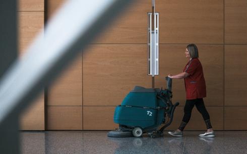 Nous nous occupons de la propreté de votre espace de travail